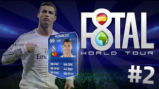 F8TAL WORLD TOUR RONALDO TOTY | EP.2 | Ultimate Team FIFA 15 | DjMaRiiO