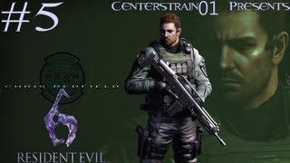 Resident Evil 6 Walkthrough Chris Redfield - Part 5 - Chapter 3 - Chris And Leon
