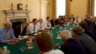 Prime Minister chairs Cabinet meeting at Downing Street, 5th September 2012