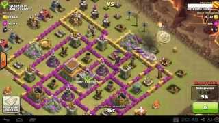 [FAIL] Clash of clans: Castillo del clan enemigo