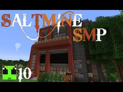 SaltMine :: Minecraft Survival :: Ep10 :: Building the Record Shop