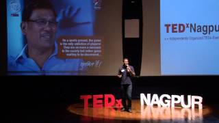 The power of play -- slum soccer | Dr. Abhijeet Barse | TEDxNagpur