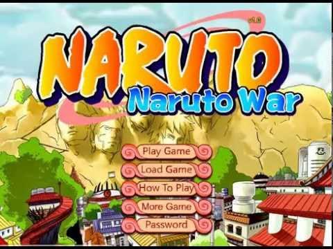 Война Наруто 10, игры драки