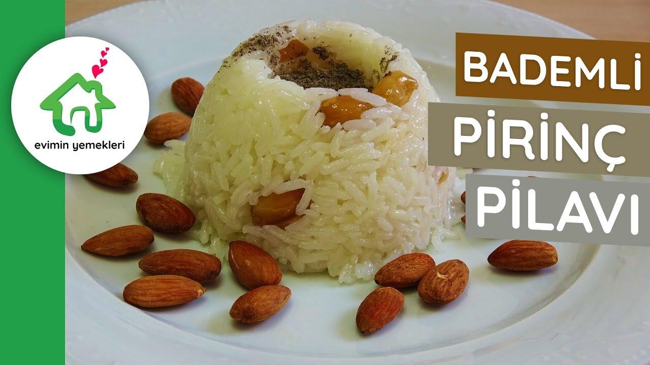 Bademli Üzümlü Pilav