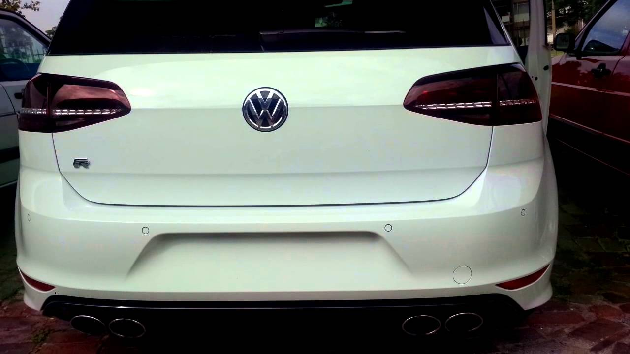 golf 7 r with downpipe youtube. Black Bedroom Furniture Sets. Home Design Ideas
