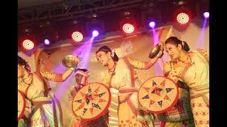 BIHU DANCE PERFORMANCE BY DIP JYOTI HAZARIKA & HIS GROUP