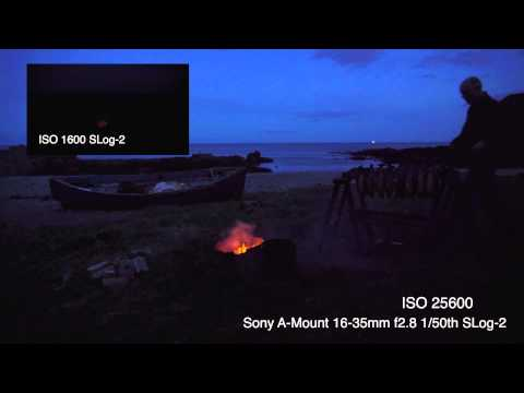 Sony A7s: Low Light Demonstration (ISO 1600 to 409600)