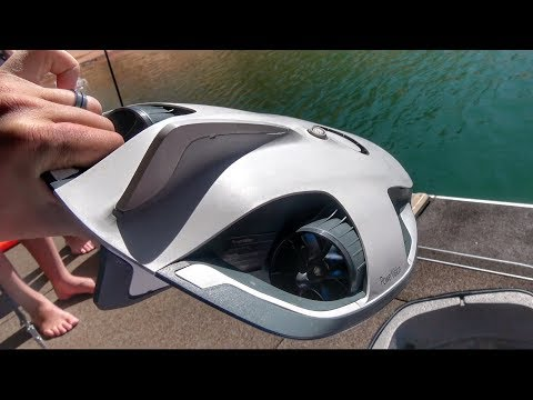 Thumbnail: World's First Underwater 4k Drone!