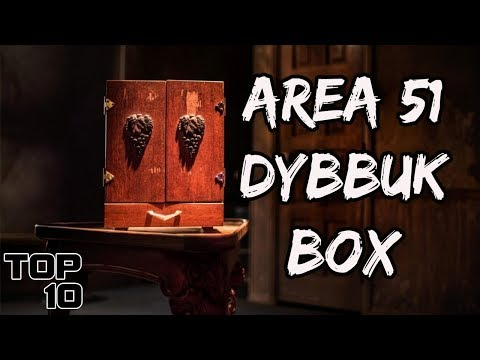 Top 10 Scary Items That Could Be In Area 51