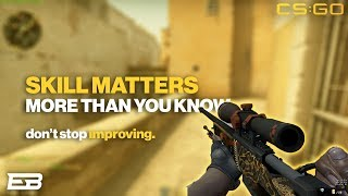 NEVER STOP IMPROVING YOUR SKILL IN GAMES CS GO & osu Gameplay PC