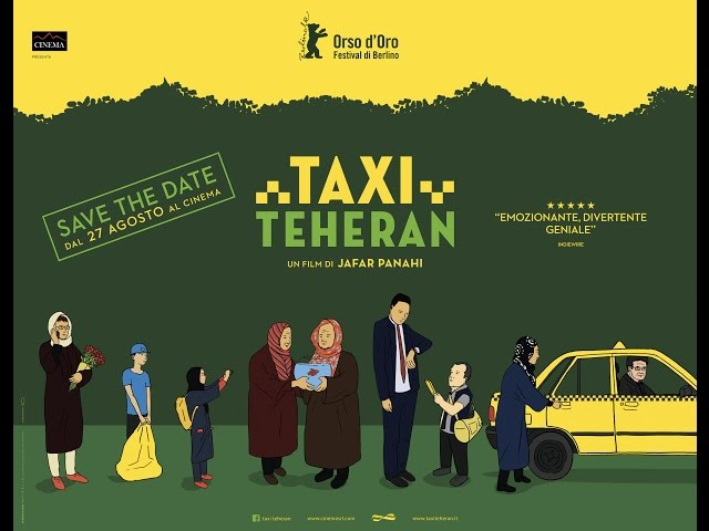 Taxi Teheran OFFICIAL TRAILER 2015