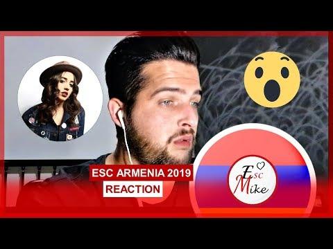 Eurovision Armenia 2019 - REACTION [Srbuk - Walking Out]
