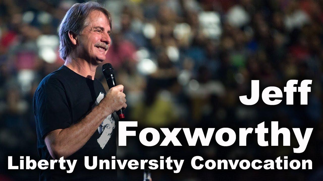 Jeff Foxworthy - Liberty University Convocation