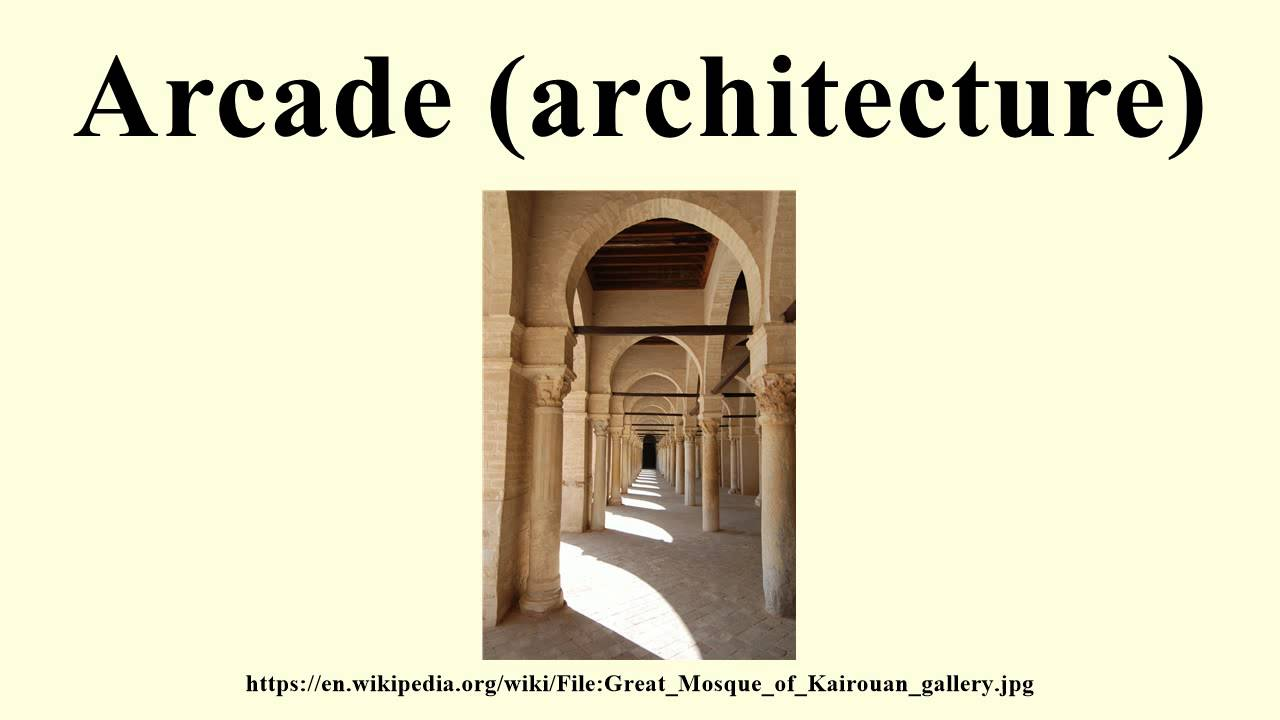 Arcade architecture youtube for Video architecture