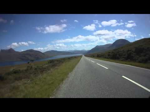 HD Version.... A 832 & A835 Gairloch to Ullapool, Scotland..