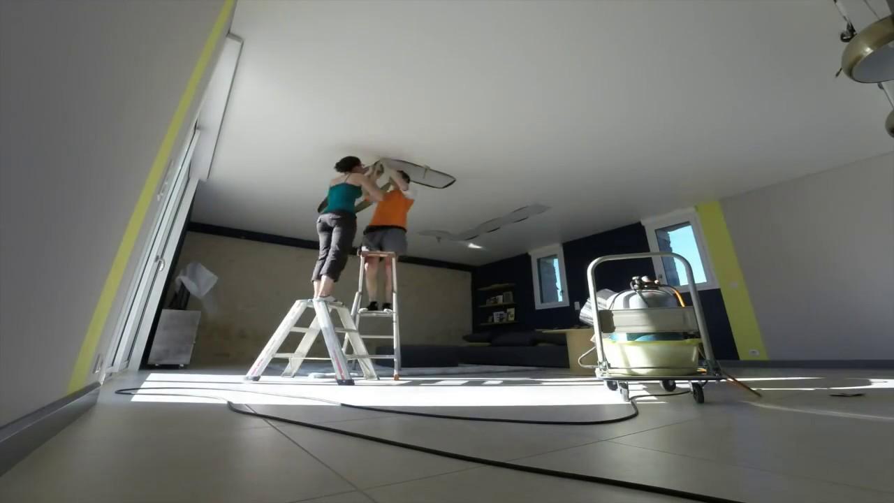 Plafond Tendu Lumineux Youtube