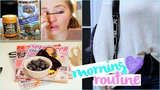 Spring Morning Routine For School 2015 | Kenzie Elizabeth