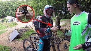 DIE LEGENDE FÄHRT MIT MEINER GOPRO! || Bikepark Osternohe || Dustin Kunze