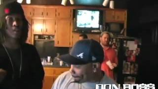 "Don Boss C.E.O. Shorty B and FUTURE at the Dungeon with Rico Wade, ""FUTURE"", Bubba Sparxxx and Chef"