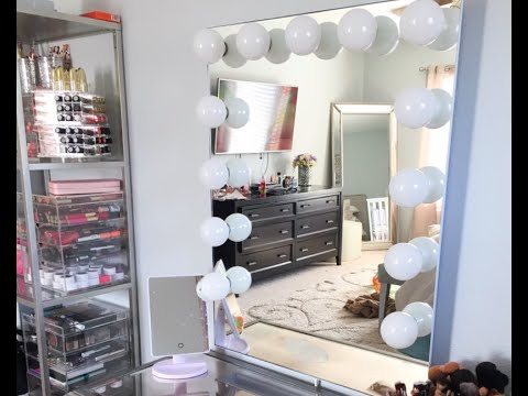 Vanity Girl Hollywood Infinity Mirror Review Youtube
