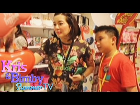 Family bonding with Kris, Bimby and Josh at Singapore