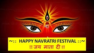 Happy Navratri 2018 Images Wishes Song whatsapp download Greetings gif hd wallpaper pic