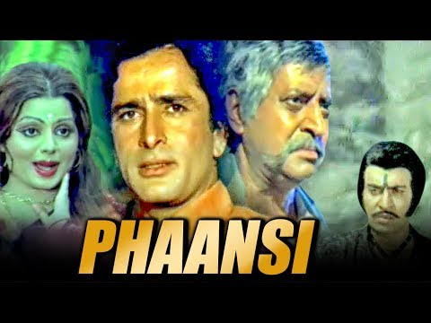 Phaansi (1978) Full Hindi Movie | Shashi Kapoor, Sulakshana Pandit, Pran, B. M. Vyas