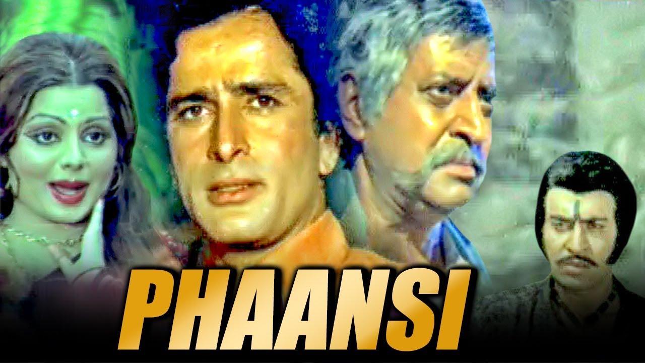 Download Phaansi (1978) Full Hindi Movie   Shashi Kapoor, Sulakshana Pandit, Pran, B. M. Vyas
