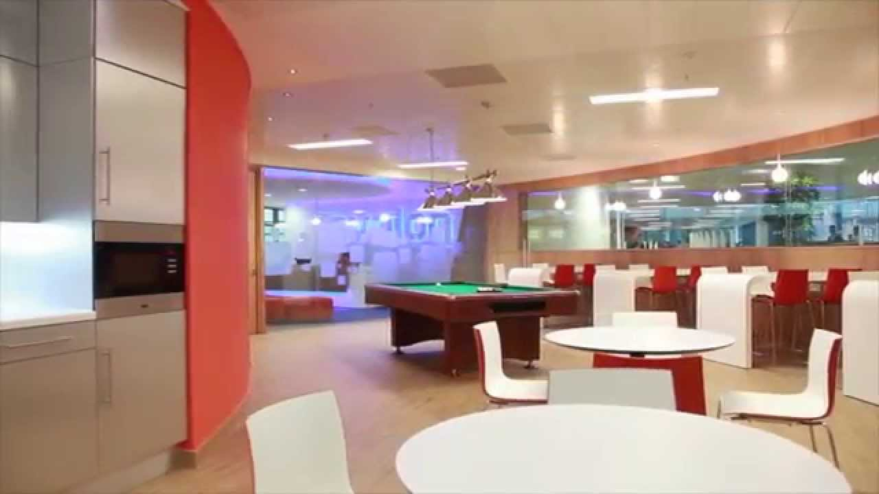 avaloq office interior fit out from axis scotland youtube