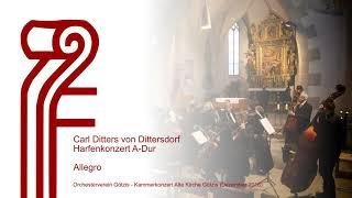 Karl Ditters von Dittersdorf - Harfenkonzert A Dur - Allegro