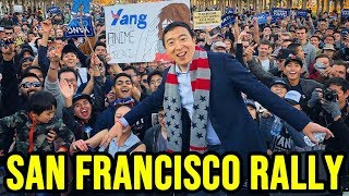 Andrew Yang San Francisco Rally | Full Speech October 27th 2019
