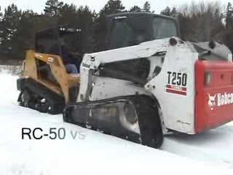 ASV RC-50 vs. Bobcat T-250