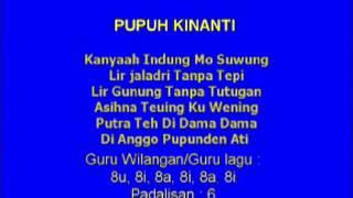 Lagu Sunda dengan Lirik | PUPUH KINANTI