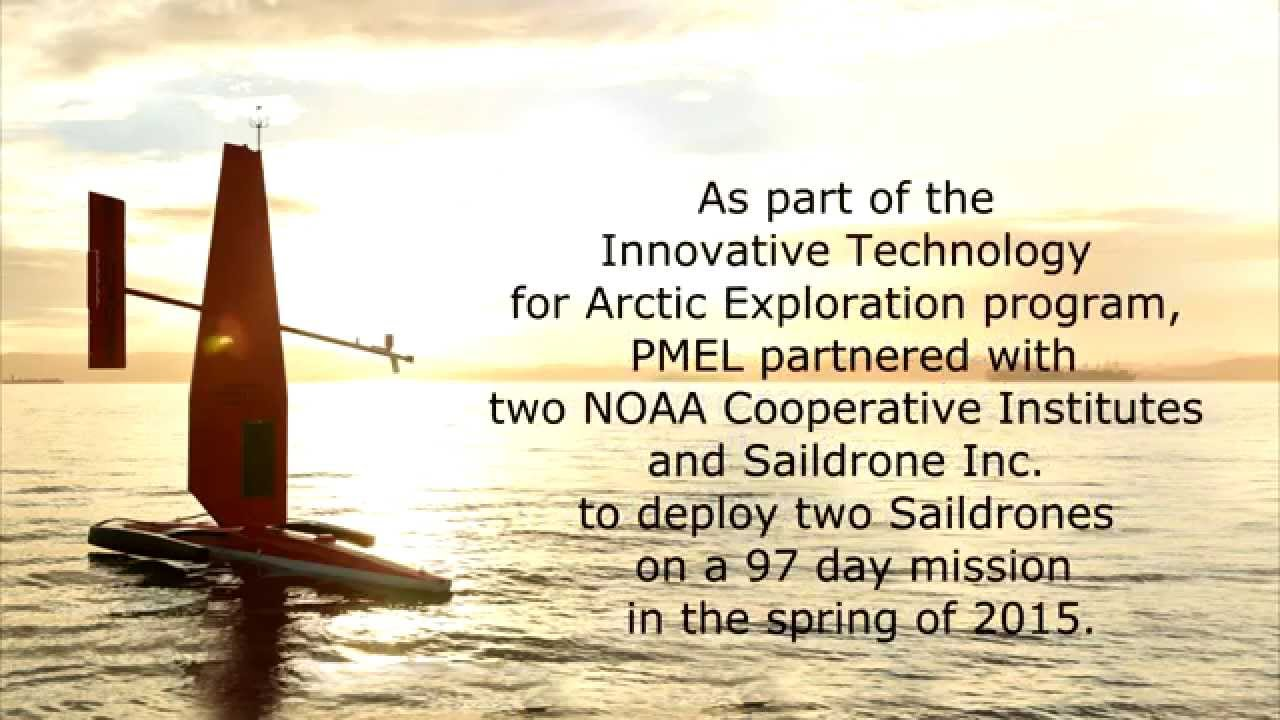 Saildrone at Sea:  Summer 2015