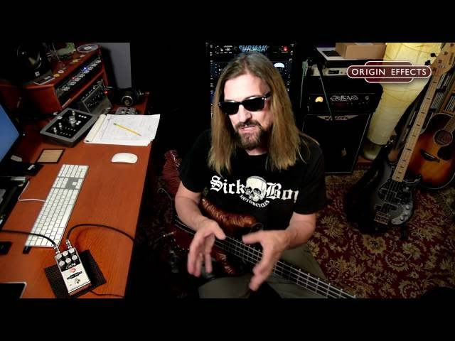 James LoMenzo Demos the Origin Effects Cali76 Compact Bass compressor pedal - FEATURES