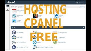 Hướng Dẫn Đăng Kí Hosting Cpanel Free | How to Get Hosting Cpanel Free Update 26/11/2019