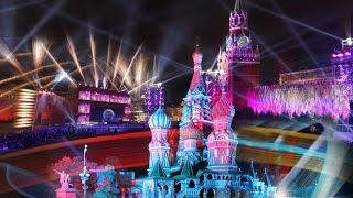 Москва фестиваль Круг света 2016 световое шоу, супер видео МГУ начало