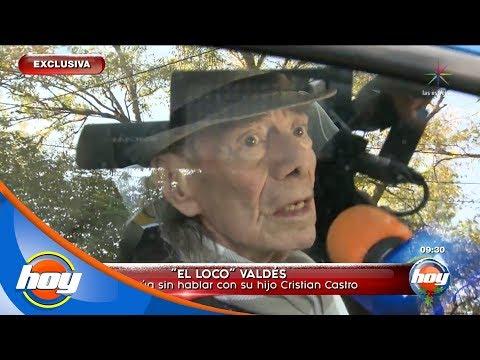 Manuel 'Loco' Valdés confirma que no existe comunicación con Cristian Castro   Hoy