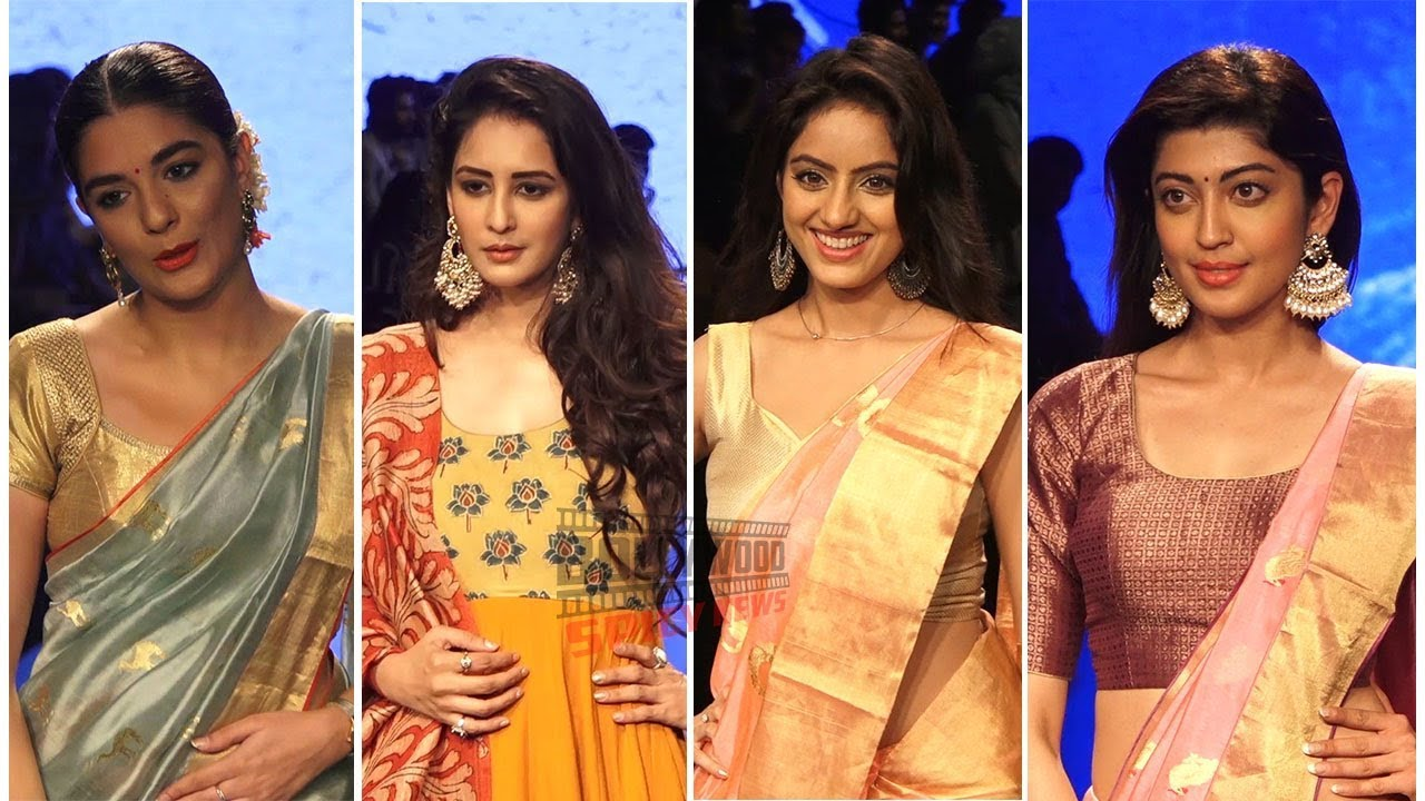 Deepika Singh, Pooja Gor, Pragya Jaiswal and Many As Guest at Lakme Fashion Week  2019 Day 5
