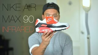 Gambar cover Nike Air Max 90 OG Infrared Review + On Feet
