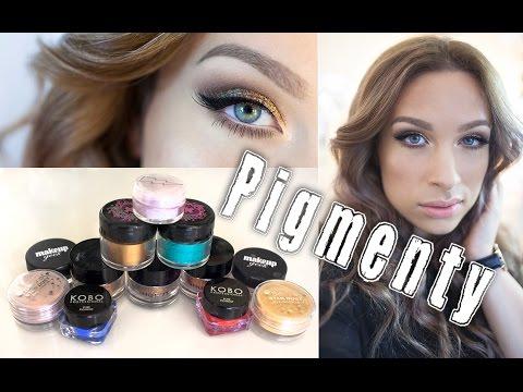 • PIGMENTY w makijażu dziennym i wieczorowym || KATOSU •