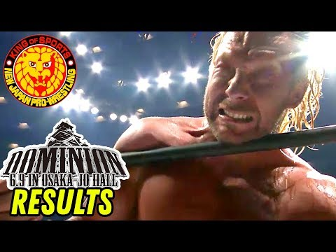 NJPW DOMINION 2018 REVIEW & RESULTS! (Going in Raw Pro Wrestling Podcast)