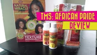 Review: African Pride Natural Miracle Texture Manageability System | Ammina Rose