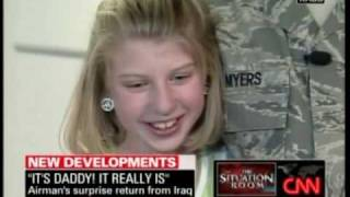 Best Iraq Father Surprises Daughter Video Ever!