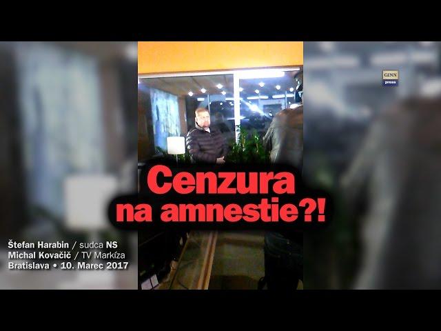 Mečiarove amnestie a cenzúra: Markíza zakázala Harabina