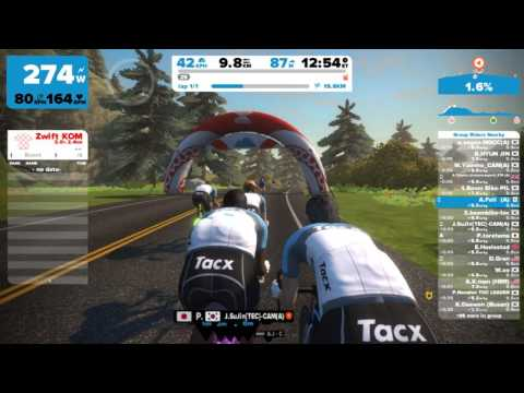 Tacx Online Challenge Race, Sun Jan 22nd 2017 11:05