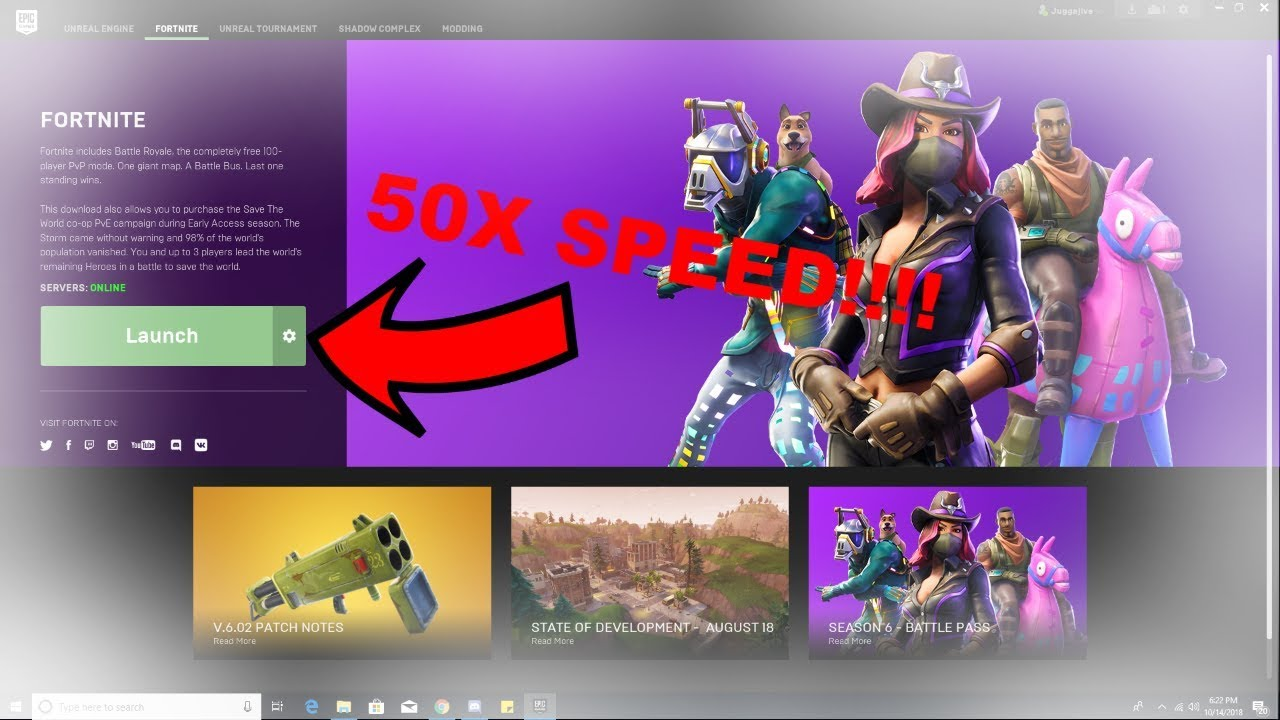 How to DOWNLOAD FORTNITE 50+ TIMES FASTER THAN NORMAL ...
