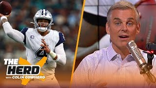 Saints will upset Cowboys, Browns will 'unravel' if they lose to Ravens — Colin | NFL | THE HERD