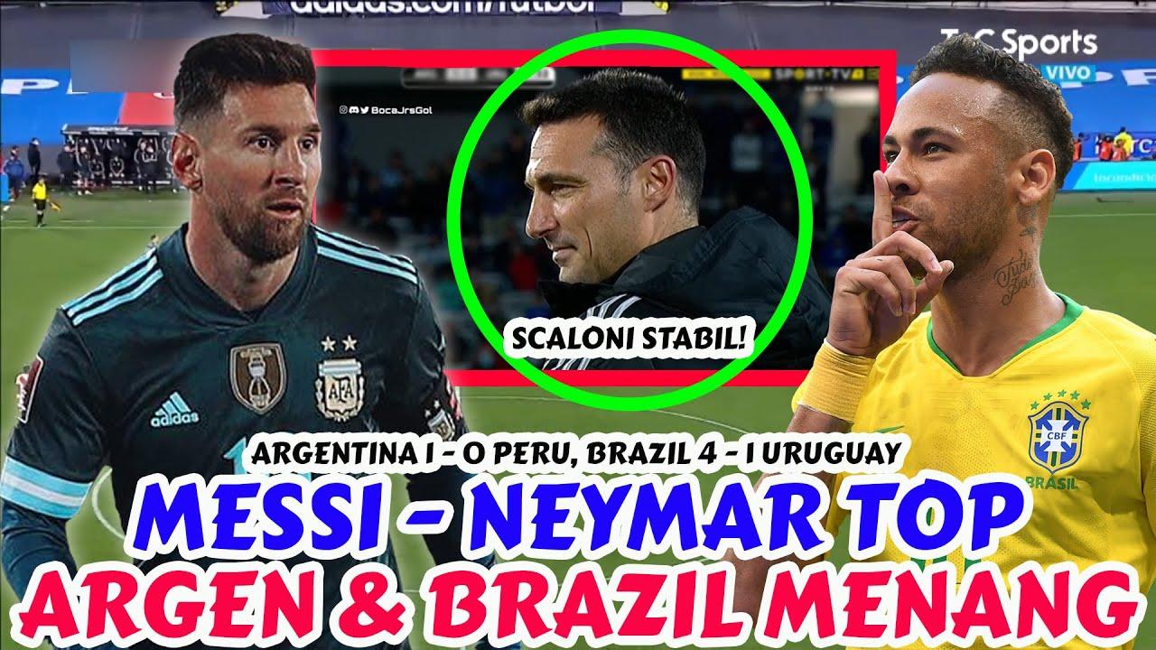 Messi Luar Biasa, Neymar Fantastis, Suarez Dipermalukan   Argentina 1 - 0 Peru