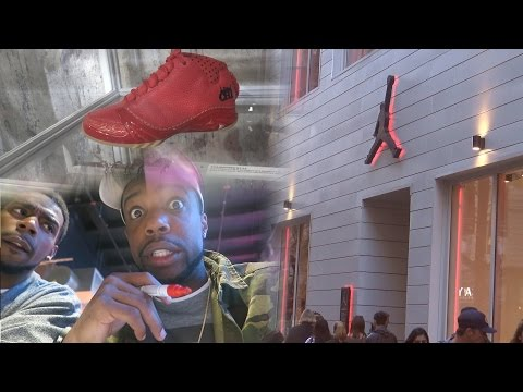 SHOPPING AT THE OFFICIAL JORDAN STORE IN CHICAGO! CUSTOMIZE MY OWN JORDAN! Vlog Ep.41 Watch Me Live!